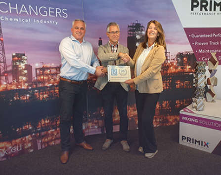 Lloyd's Award for PRIMIX - 25 years Quality Management certified